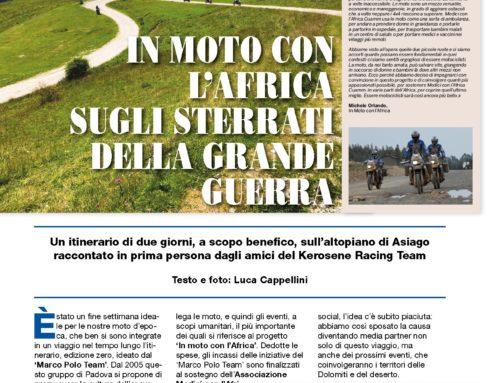 Fuoristrada & motocross d'epoca  In moto con l'africa sugli sterrati della grande guerra