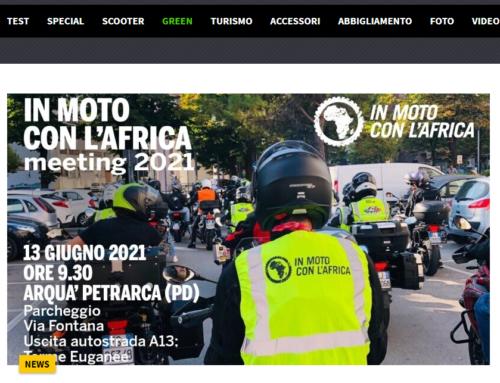 In Moto Con l'Africa: primo raduno benefico ad Arquà Petrarca – InMoto.it