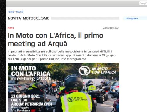 In Moto con L'Africa, il primo meeting ad Arquà – InSella.it