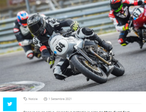 Federmoto.it – In Moto Con L'Africa. Due ottime prove a Magione nel Guzzi Fast Endurance